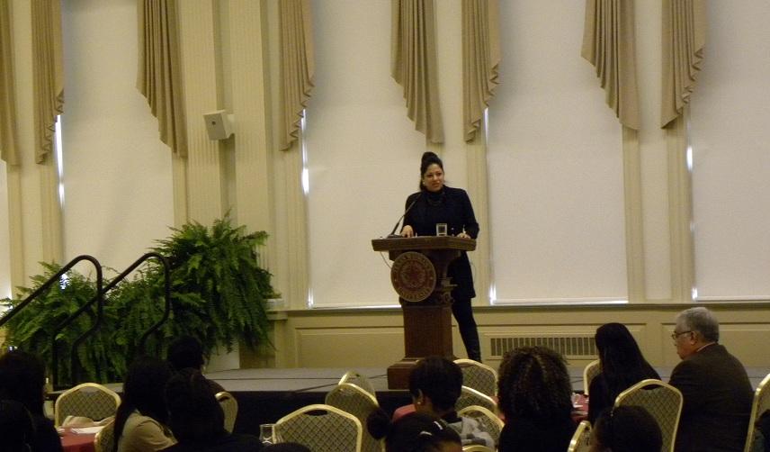 Marie Diaz - Speaking 2